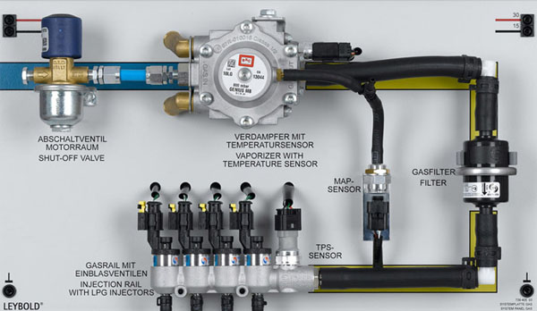 lpg central gas system